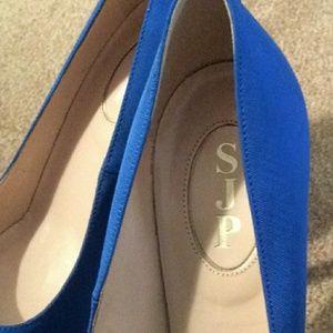 SJP by Sarah Jessica Parker Shoes - SJP Blue Fawn